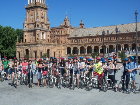 School_trip_to_Seville_bike_tour