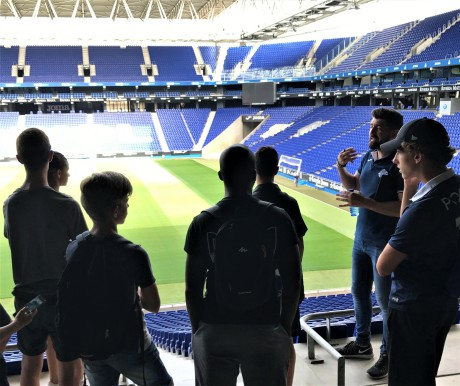Summer_football_camp_in_Barcelona_private_guided_tour_of_rcd_espanyol_cornella_stadium