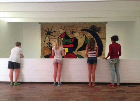 Cultural_school_trip_to_Barcelona_visiting_Fundacio_Miro