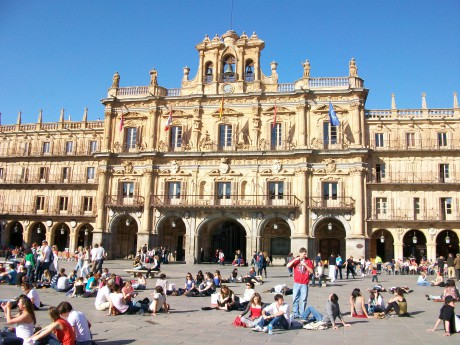 Plaza-Mayor-Salamanca-Spanish-language-school-trip
