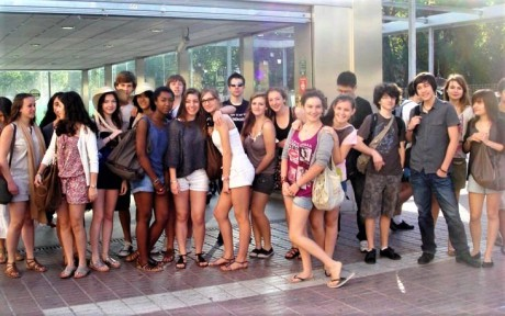 group-of-spanish-language-students-in-Mairena-the-authentic-andalucia